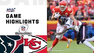 Texans vs. Chiefs Diviṡional Round Highlights | NFL 2019 Playoffs