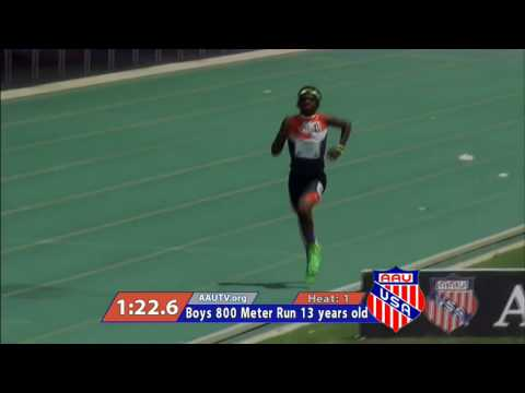 Brandon Miller Sets 13-Year-Old Age Group World Record 800m