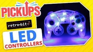 Retro-bit LED NES, SNES, N64, GameCube USB Controllers! - Pickups - Rerez