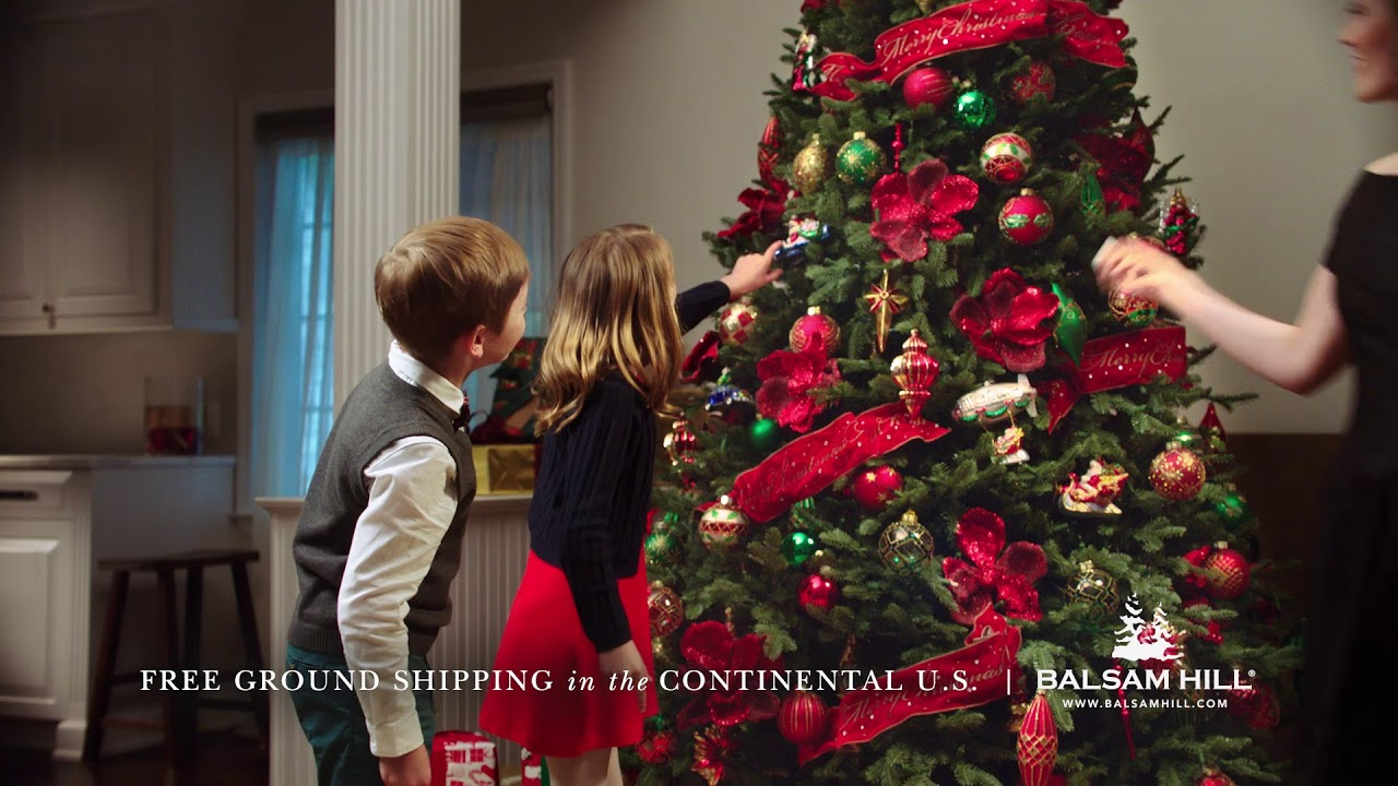 balsam hill tv commercial 2017 brand black friday - Black Friday Christmas Decorations