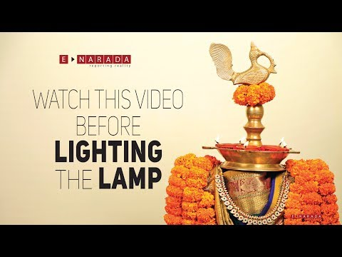 Diwali Decoration ideas | Lighting Pedastal Lamp with Clay Diya | Suggestions by Mamatha
