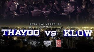 Batalla de Rap: THAYOO vs KLOW @ Sinescritura . CBA . 2015 [HD]