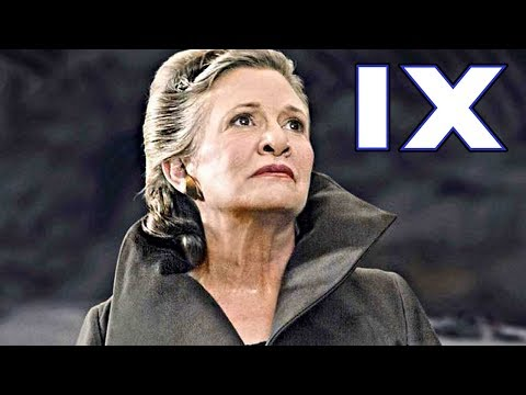How JJ Abrams Says He'll Bring LEIA Back for Episode 9  Star Wars Explained