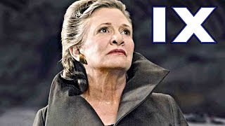 How JJ Abrams Says He'll Bring LEIA Back for Episode 9 - Star Wars Explained