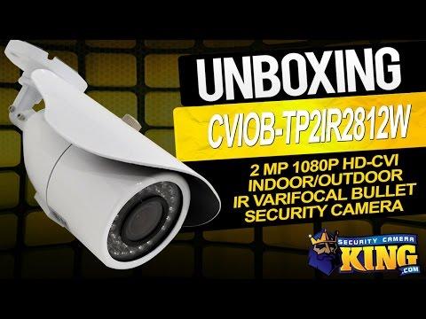 HDCVI Security Cameras and DVR Video Demo