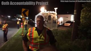 Illegal To Stand Still At The Checkpoint Says Cop   OAP