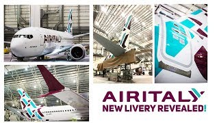 Air Italy's NEW LIVERY Revealed!