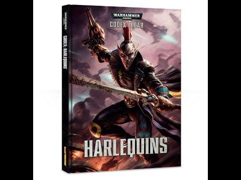 Harlequins Codex (7th edition) Review