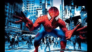 человек паук и герои  под музыку