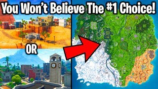 I ASKED 20,000 FORTNITE PLAYERS THEIR FAVORITE LOCATION....