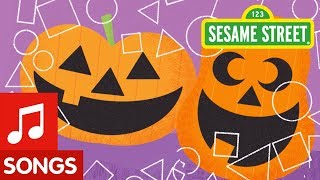 Sesame Street: Making Pumpkin Faces | Halloween Song