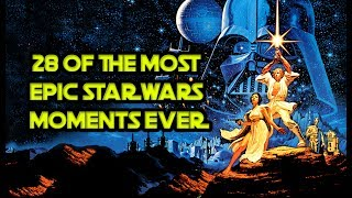 "28 Of The Most Epic ""Star Wars"" Moments Ever"