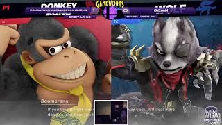 WeS | Konga (Donkey Kong) vs DAMN. (Wolf) - Orbitar 63 - Top 32