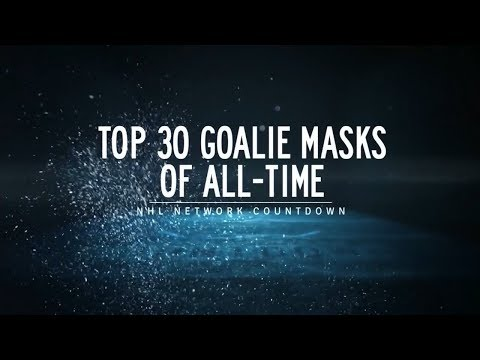 NHL Network Countdown: Top 30 Goalie Masks of All-Time