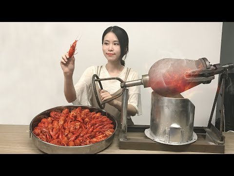 Thumbnail: E19 Cook Crayfish in popcorn popper?! Boom~Your spicy crayfish is to be served immediately.