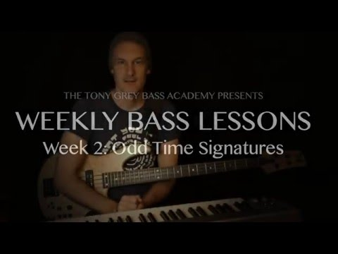 FREE Weekly Bass Lessons: Week 2 'Odd Time Signatures'