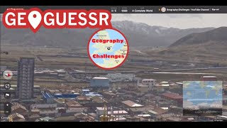 Geoguessr - A Complete World (Insane Guesses/Flops)