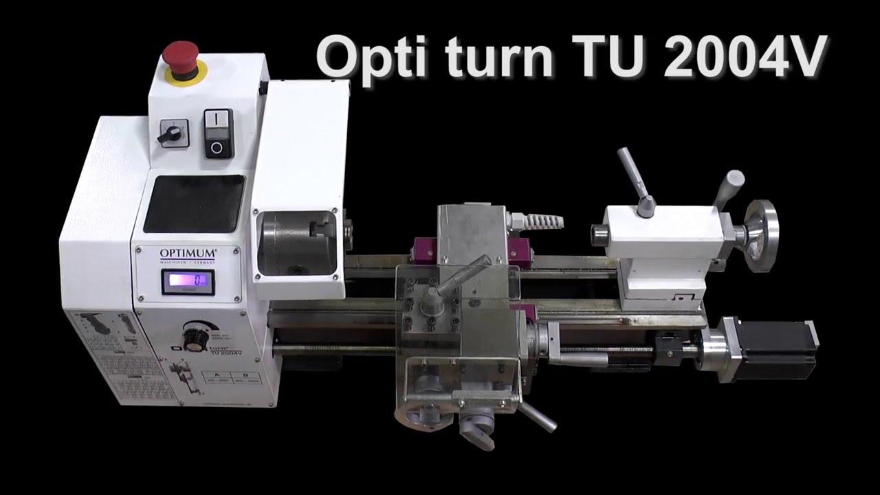 Optimum Drehmaschine TU 2004V