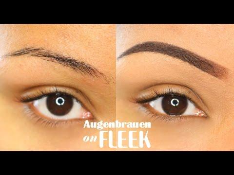 Tipps für perfekt geformte und betonte Augenbrauen