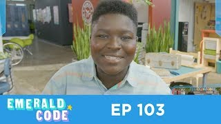 Emerald Code - Emerald Code | The Birthday | Learn to Code | Season 1 Episode 3 | Get into STEM | HD thumbnail