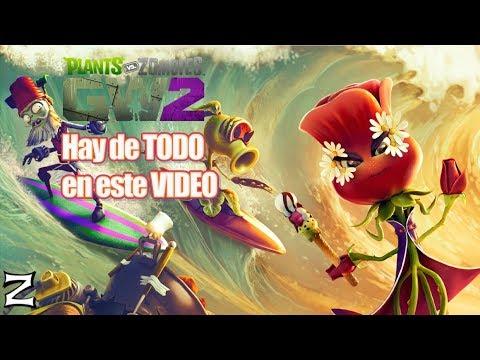 Hay de TODO en este VIDEO - Plants vs Zombies Garden Warfare 2