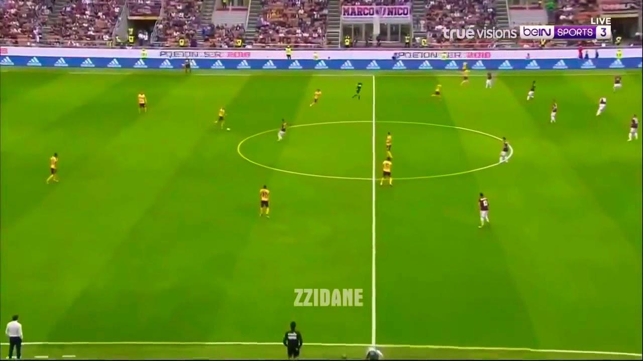 AC Milan vs Hellas Verona 4-1 All Goals & Highlights ...