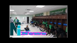 Nigeria's Super Eagles gets customised dressing room in Russia