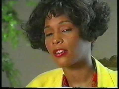 Rare 1992 Whitney Houston UK interview MUSIC FROM THE CIRCUS