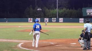 Knuckle ball specialist makes guys look silly!
