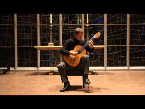 Manuel M. Ponce, Campo from Sonatina Meridional, Ignacio Barcia, Guitar