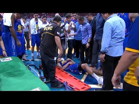 Troy Rosario Leaves Game On A Stretcher After Scary Fall (VIDEO)