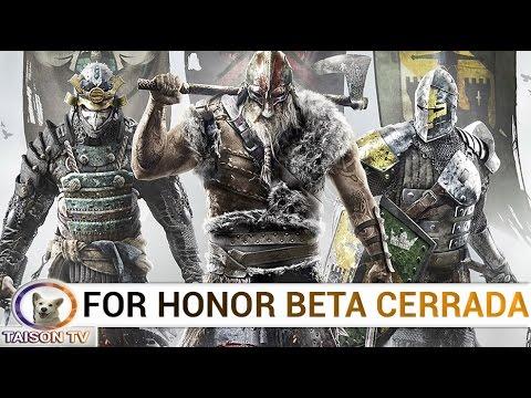 For Honor Beta Cerrada Vamos Vikingos!