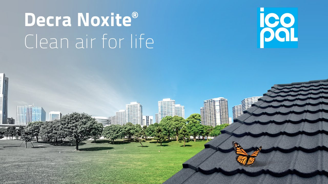Decra Noxite® Lightweight Roof Tiles - Clean air for life - YouTube