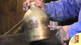 antique pocomoke city md stoneware jug overview