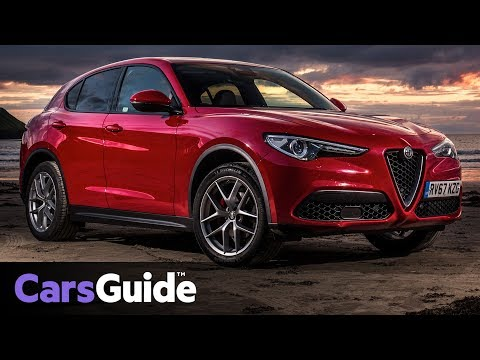 2018 Alfa Romeo Stelvio SUV detailed video