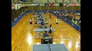 全日本実業団卓球選手権 長崎県立総合体育館