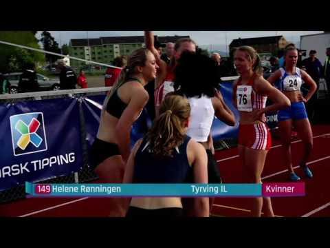 Norwegian Grand Prix 2016 Hamar 200m - Kvinner 200m Helene Rønningen 23.83