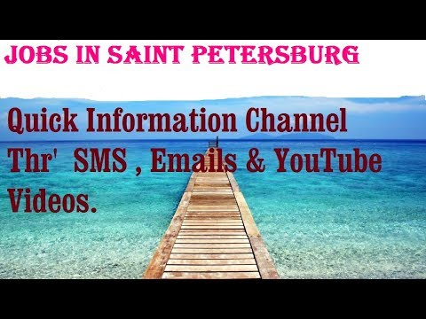 Jobs in SAINT PETERSBURG City for freshers & graduates. industries, companies.  RUSSIA