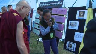 H H the Dalai Lama's Visit to TCV Gopalpur
