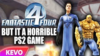 Fantastic 4 but it's a horrible ps2 game