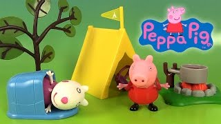 Peppa Pig Episode Jouets Camping avec Suzy Sheep