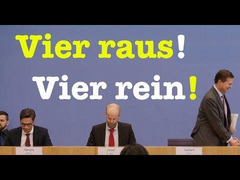 28. März 2018 - Bundespressekonferenz - RegPK