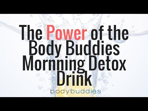 The POWER of the Body Buddies Detox Drink