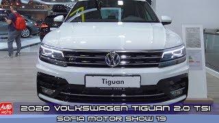 2020 Volkswagen Tiguan HighLine 2.0 TSI - Exterior And Interior - Sofia Motor Show 2019