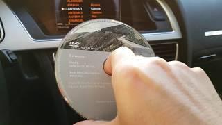 Copy DVD to SD card in car - MMI 3G - Audi A5 - A4B8/A5/Q5/A6C6/Q7(2009-)