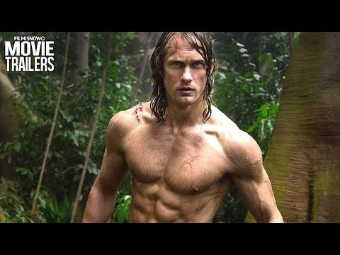 Alexander Skarsgård swings hard in the...