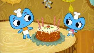 Мультфильмы для Малышей - Котики, вперед! - Торт для принцессы (Серия 6)