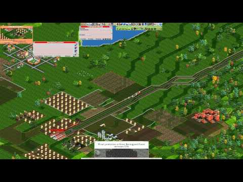 OpenTTD Tutorial 1: The first traintrack you'll make