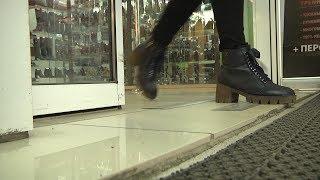 Жительница Мордовии сломала ногу в одном из торговых центров Саранска