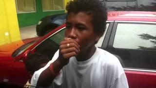 kid singing in puregold clark